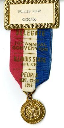 AFL-CIO convention ribbon 1969002