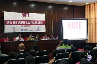 Dr. Sepali Kottegoda, Executive Director of Women and Media Collective