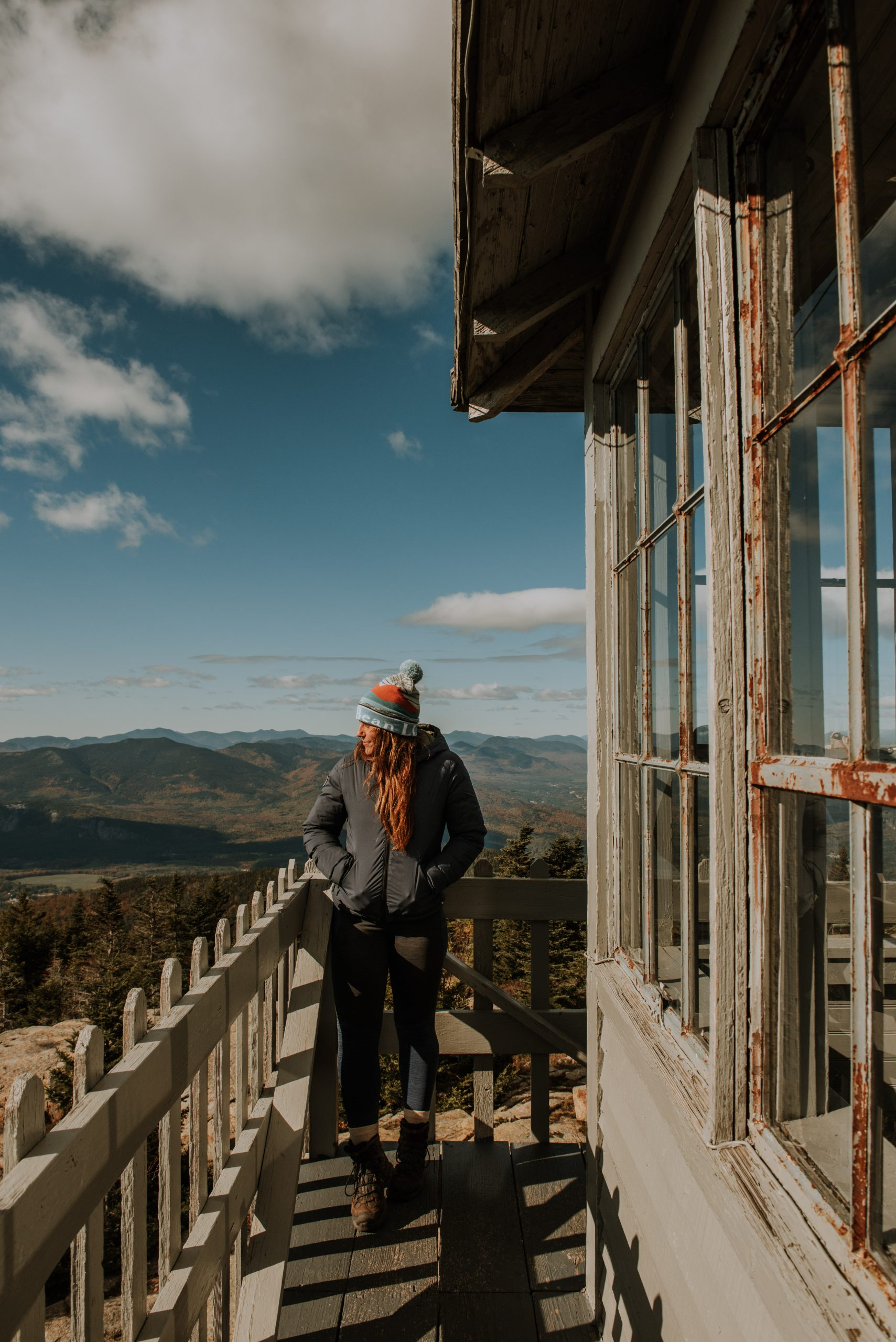 Fall in New Hampshire on Kearsarge North Mountain Fire Tower