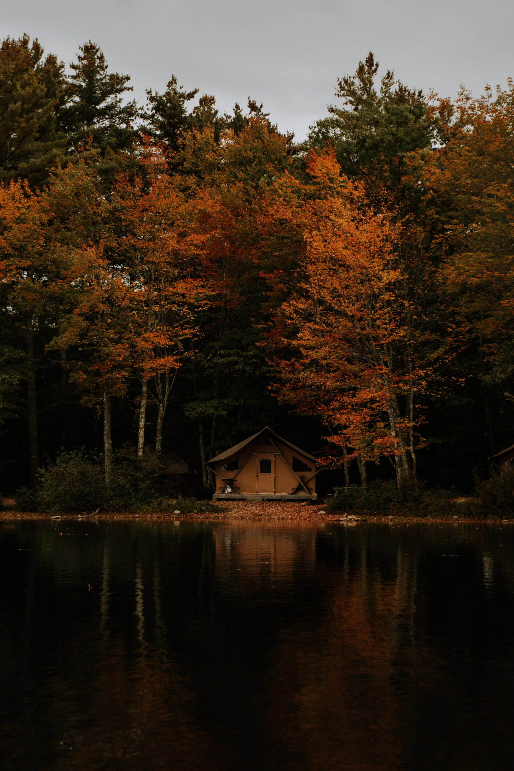 Huttopia Glamping in White Mountains New Hampshire