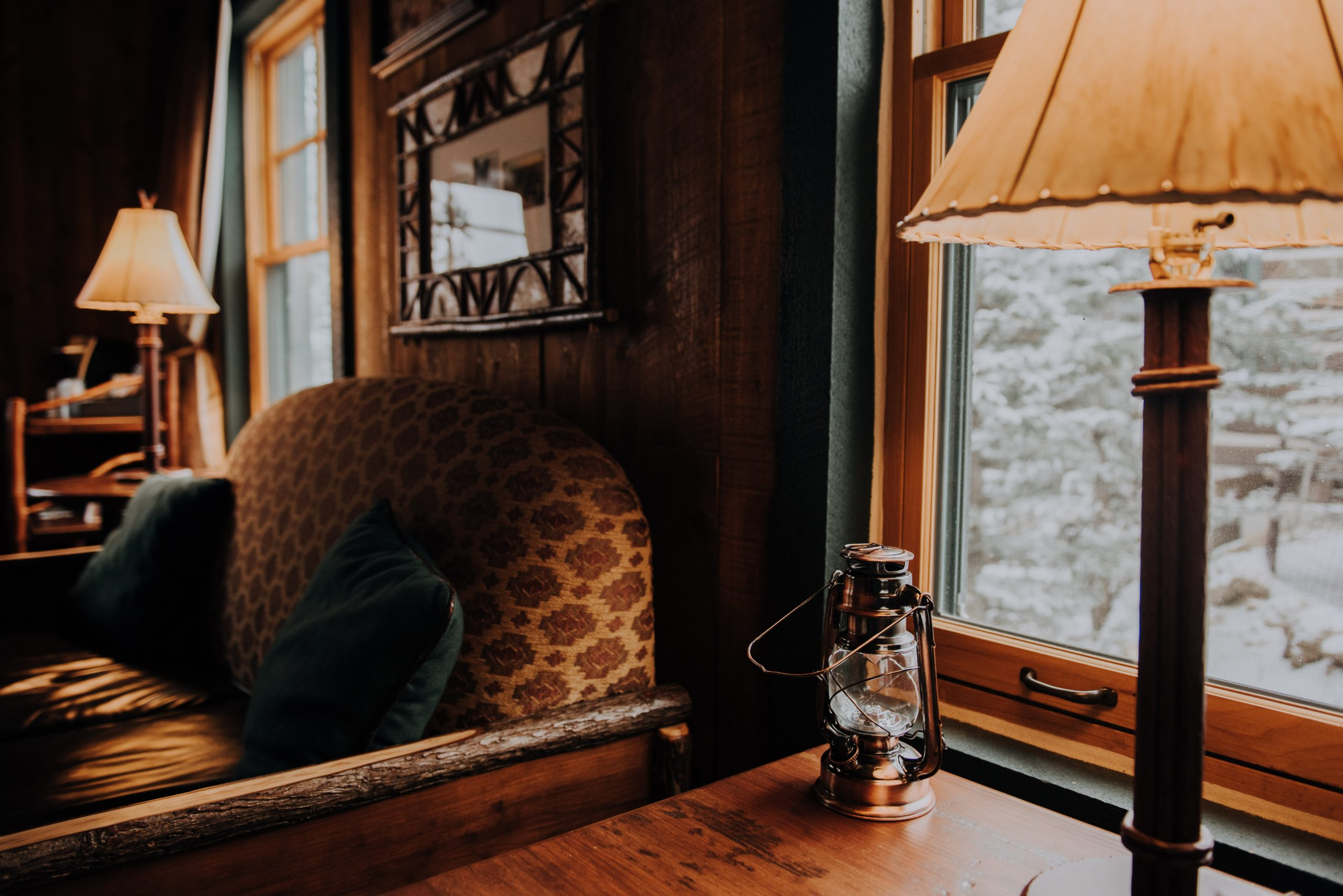The Broadmoor cloud camp cabin