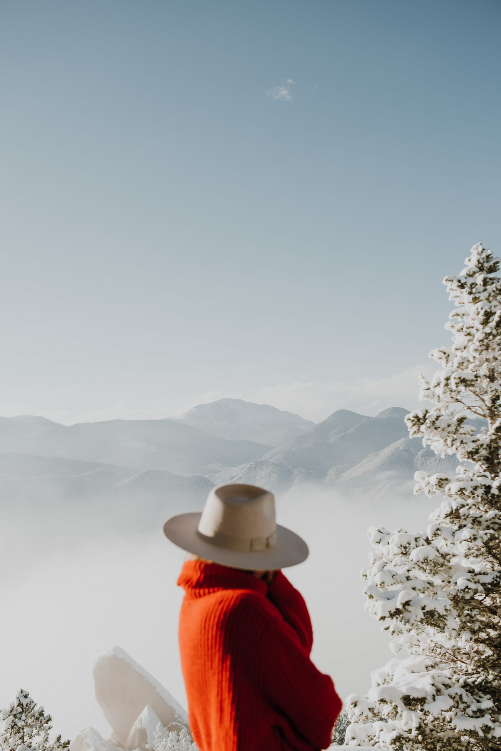 The Broadmoor cloud camp rocky mountain views