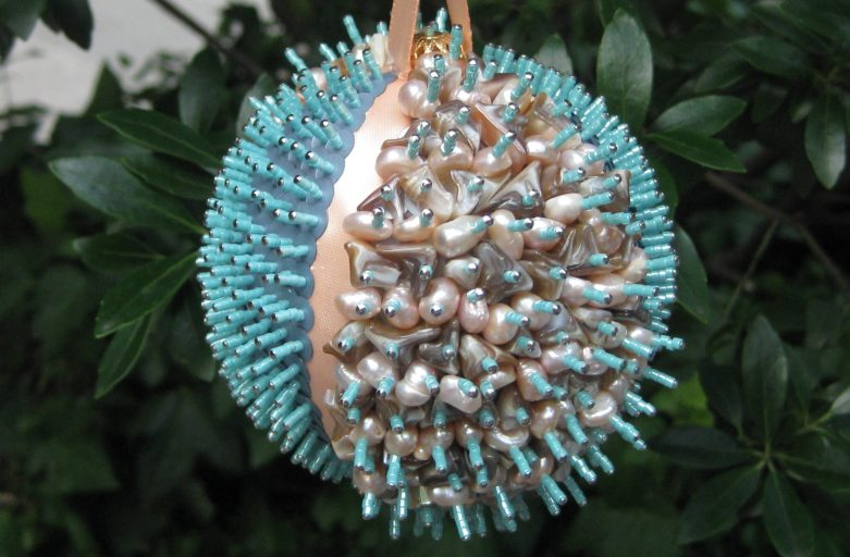 Hannah's hand-made ornament