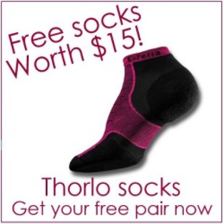 Free Thorlo Socks worth $15