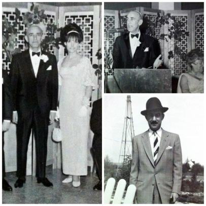 collage of old black & white photos