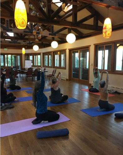 yoga at women at woodstock