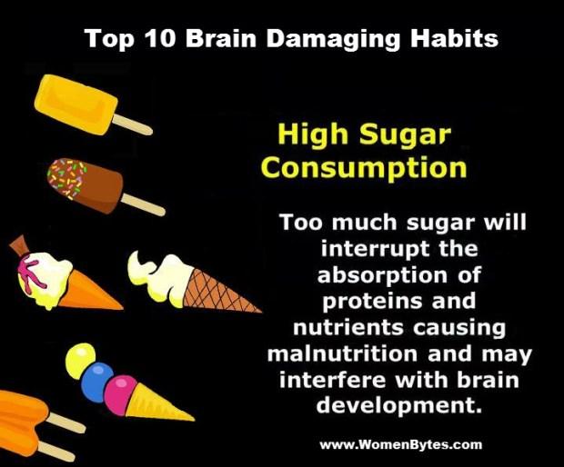 10 Bigger Brain Damaging Habits