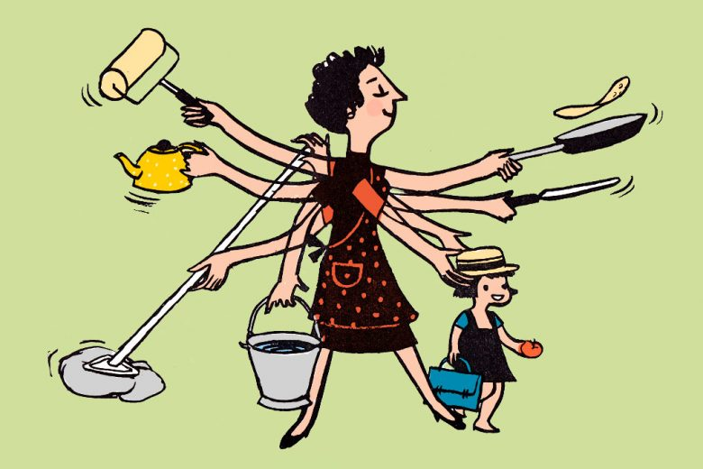 """Cooking and domestic chores are """"basic skills"""" not only the """"Women's job"""" –  Women Chapter"""