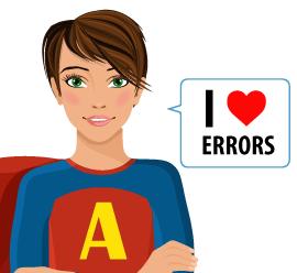 I love errors