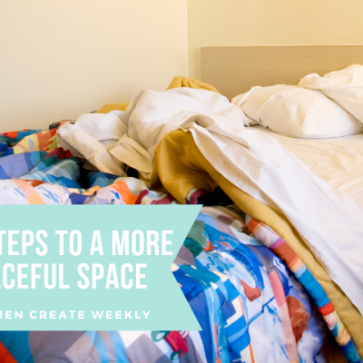 4 Simple steps to a more peaceful space