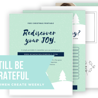 Rediscover your JOY