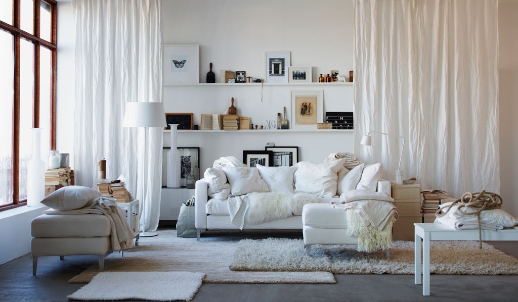 20 Advices From Ikea On How To Decorate Small, Living