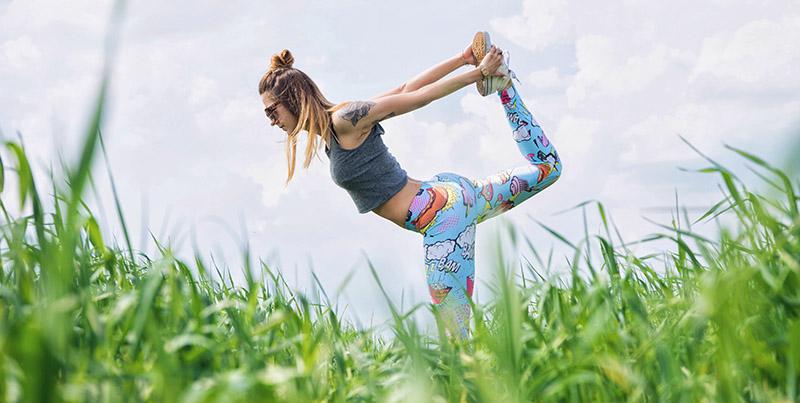 Stretching in het veld