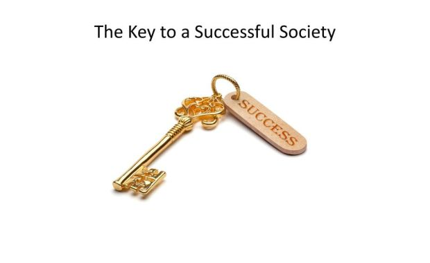 Keys for a successful society