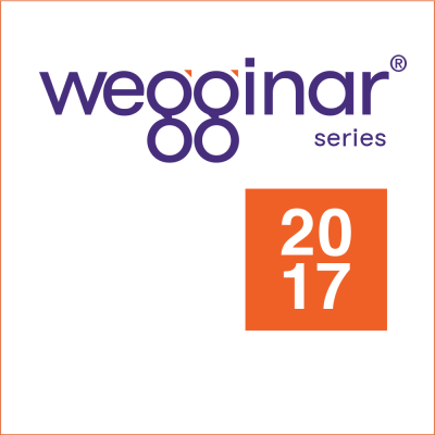 2017 wegginar series