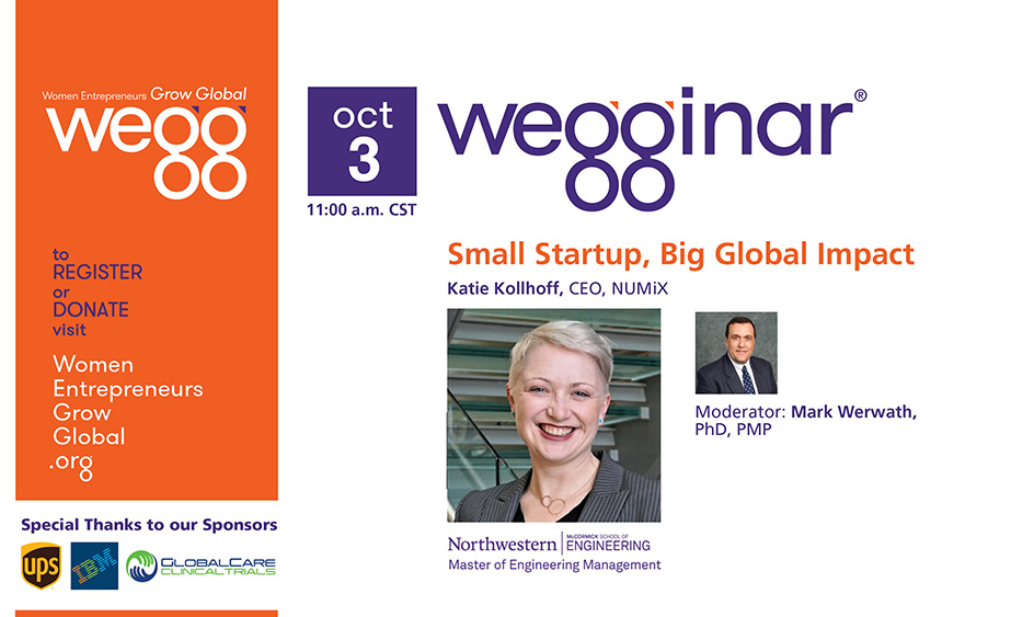 Sept wegginar with Katie Kollhoff