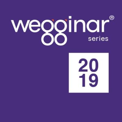 2019 wegginar series