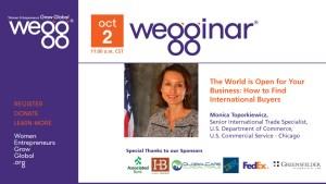 October 2 webinar with Monica Toporkiewicz
