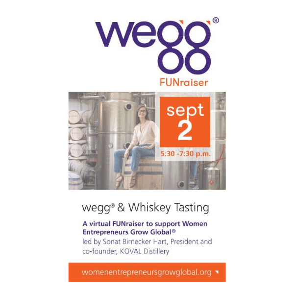 wegg® and Whiskey Tasting 9.2.20