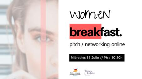 """""""Women BREAK-fast pitch"""" 15 Julio 2020"""