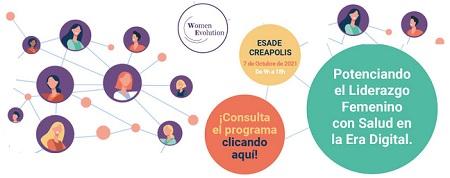 """Women Evolution, lanza su tercera edición en Barcelona """"Liderazgo Femenino en la Era Digital. Salud e Innovación empresarial"""""""