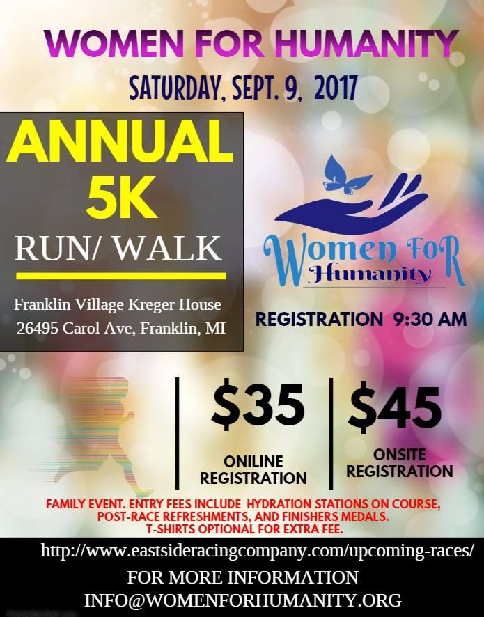Annual 5K Run/ walk