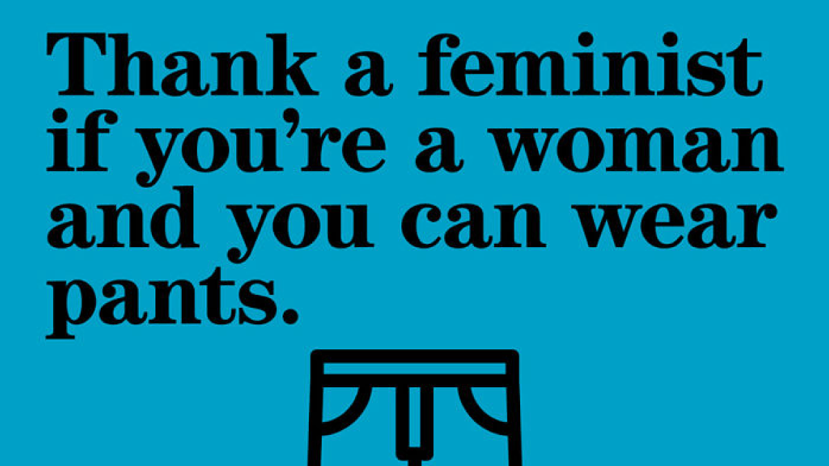 Thank a Feminist with these 21 Posters