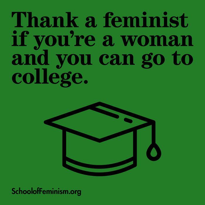 Thank a Feminist