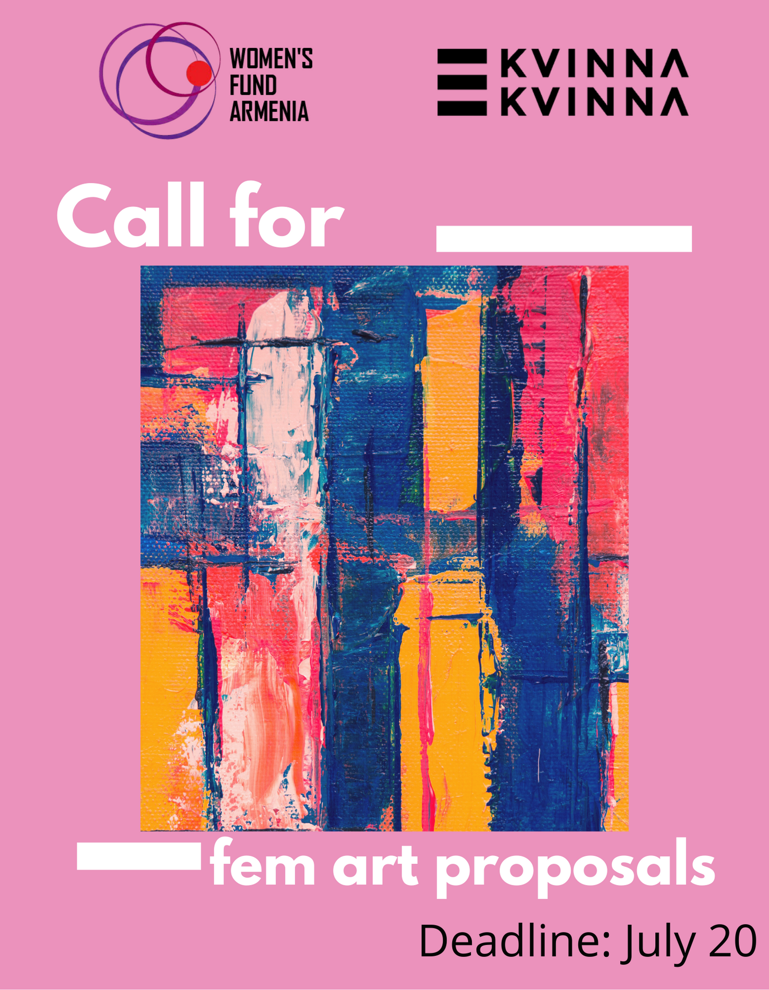 Call for feminist art proposals
