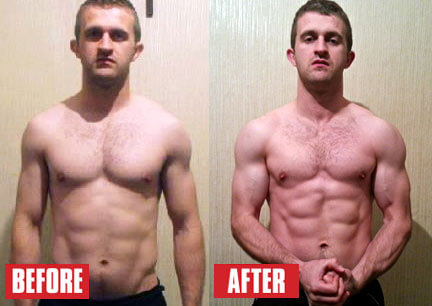 HGH Bodybuilding Before and After=Craig