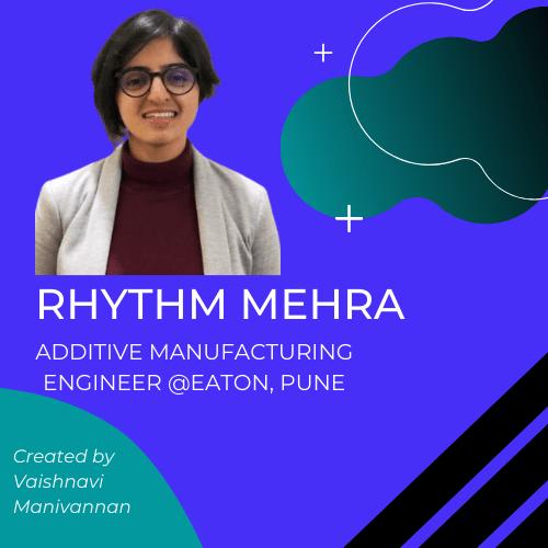 Rhythm mehra eaton aerospace 3d printing