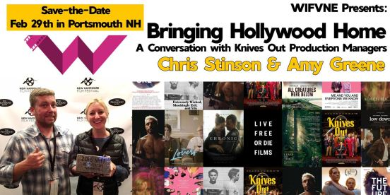 Bringing Hollywood Home:  A Conversation with Chris Stinson and Amy Greene @ Portsmouth Community Radio