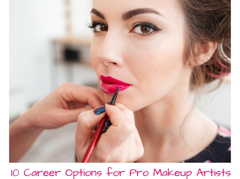 10 Career Options for Professional Makeup Artists