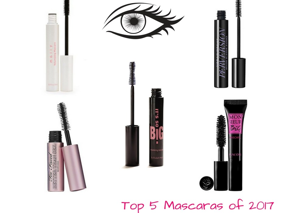 Top 5 Mascaras of 2017