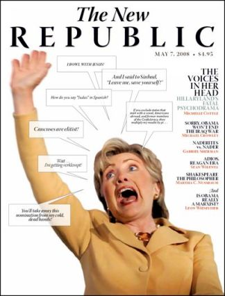 """Having seen the May 7, 2008 issue of The New Republic, which shows then-presidential candidate Hillary Clinton as ""hysterical,"" I shouldn't have been shocked by their recent depiction of Kate Middleton."""