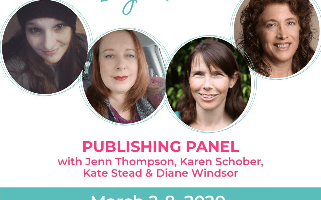 Day 3: Publishers Panel: Karen Schober, Jenn Thompson, Kate Stead, Diane Windsor