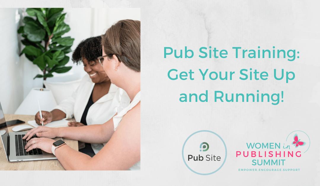 Set Up Your Website with Pub Site