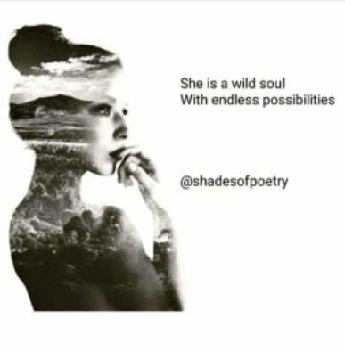 she is a wild soul