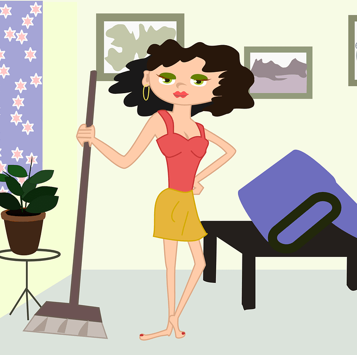 8 Daily Exercises to do at Home while doing your Housework