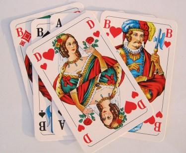 cartes de coeurs