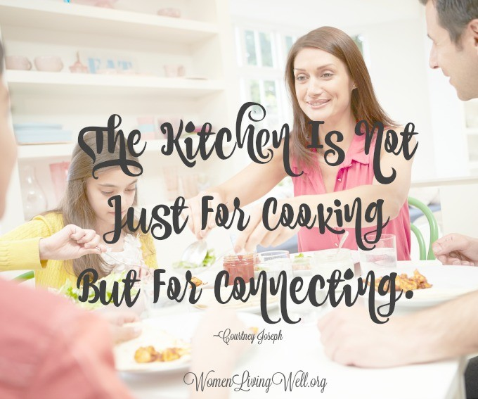 The Kitchen Is Not Just For Cooking But For Connecting