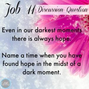 Job 11a