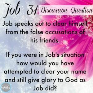 Job 31a