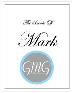 Mark Journal Cover short version