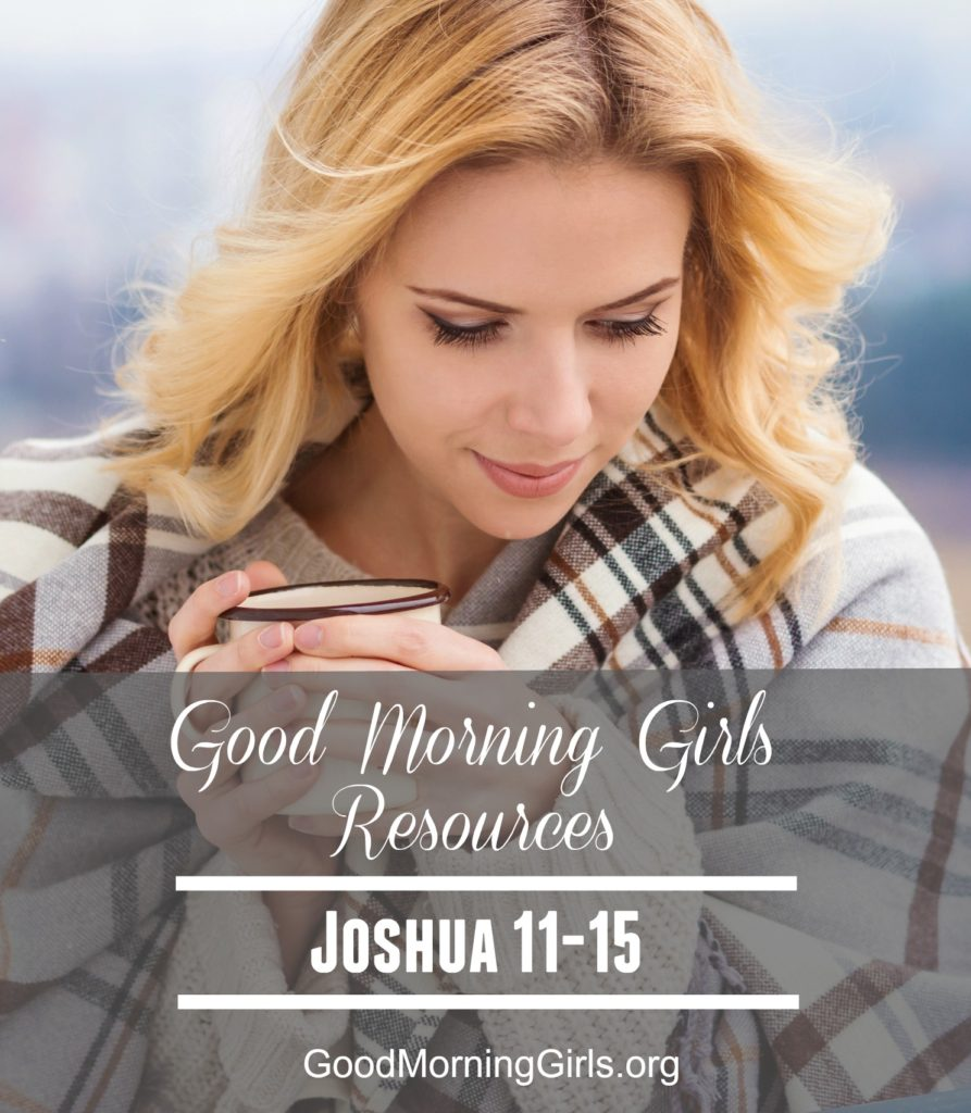 GMG Resources Joshua 11-15