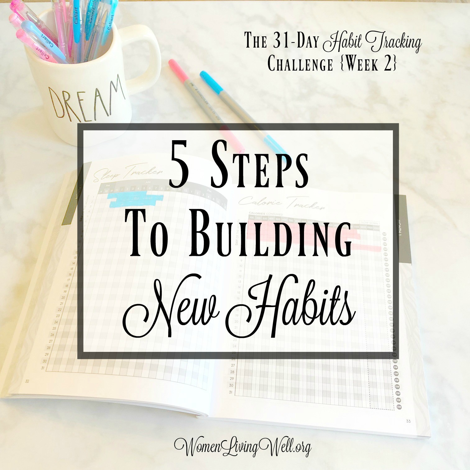 5 Steps To Building New Habits
