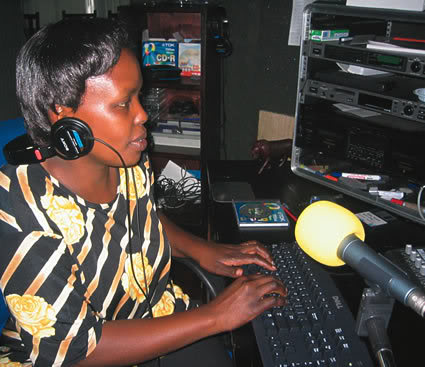 How Radio Stops Violence Against Women – Africa