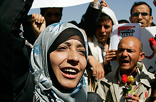 How Yemen's Tawakul Karman Came to Head a Protest Movement