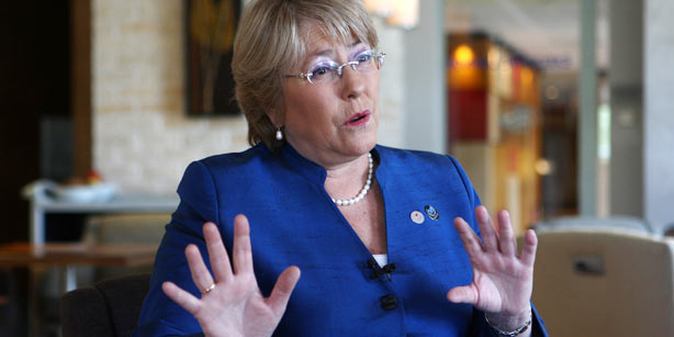 UN's Bachelet says ending pandemic violence against women is priority