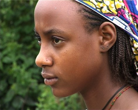 Scene from Cameroon documentary on marriage culture